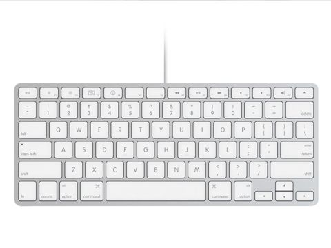 apple wired keyboard compact review techradar. Black Bedroom Furniture Sets. Home Design Ideas