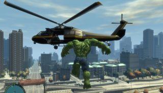 HULK Mod, fo Grand Theft Auto IV