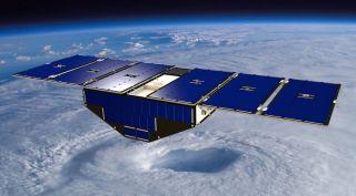 CYGNSS small satellite illustration