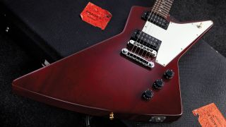 Gibson Explorer electric guitar
