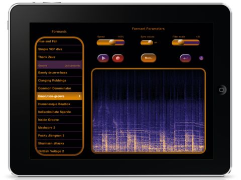 SynthTronica generates its sounds via formant distortion synthesis.