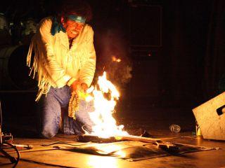 Hendrix tribute act John Campbell