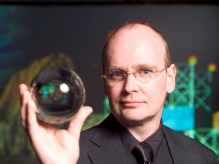 Futurologist Ian Pearson believes TV contact lenses will be a reality