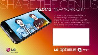 LG Optimus G Pro invite
