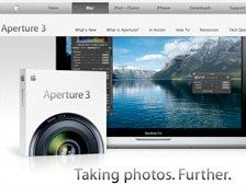 Apple launches Aperture 3 featuring face recognition and improved library and slide show features