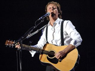 Paul McCartney performs as part of the Coachella Valley Music and Arts Festival, 2009