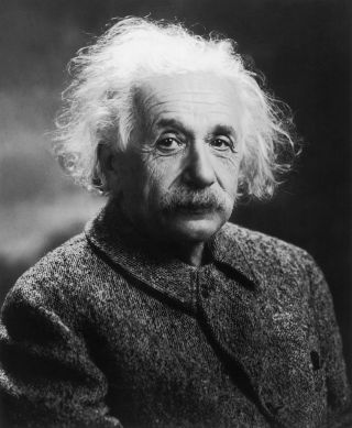 Portrait of Albert Einstein circa 1939.