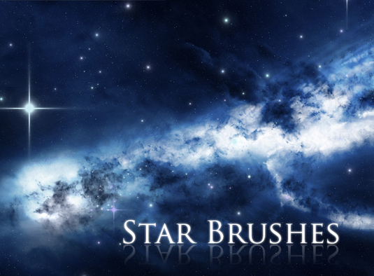 Photoshop brushes: Star