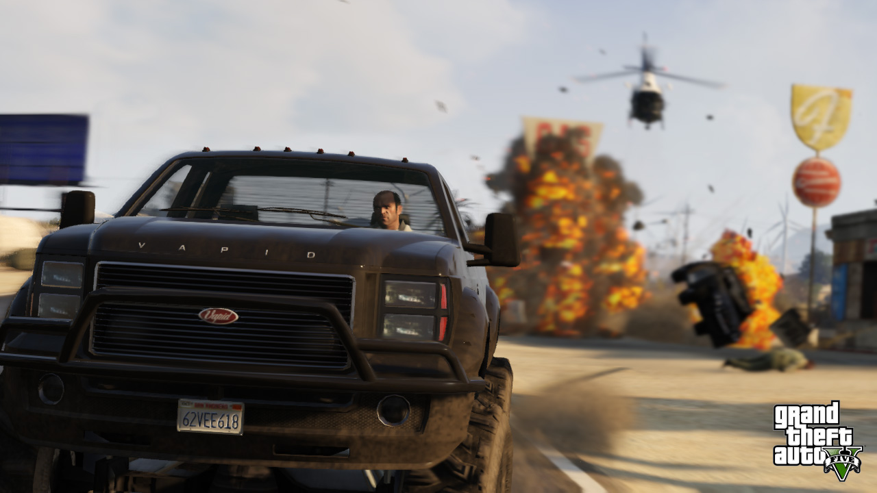 Grand Theft Auto V on Steam promises advanced video editor