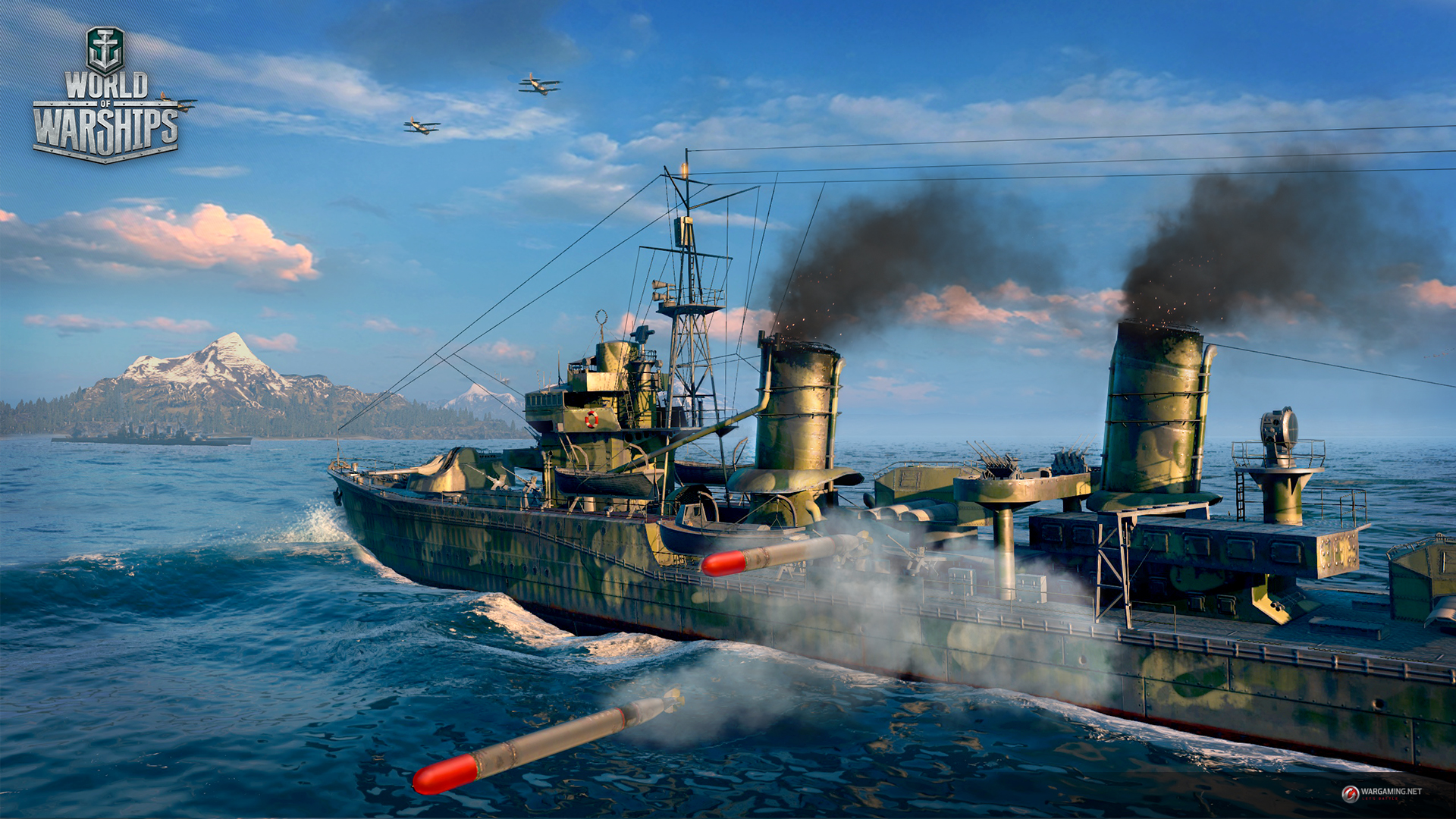 World of Warships release date...