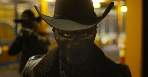 Everyone wants to be a cowboy in 'The Forever Purge.'