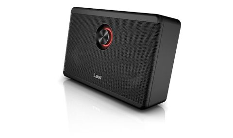 The iLoud packs an impressively robust set of speakers and an iRig mic/guitar input into a sturdy plastic housing