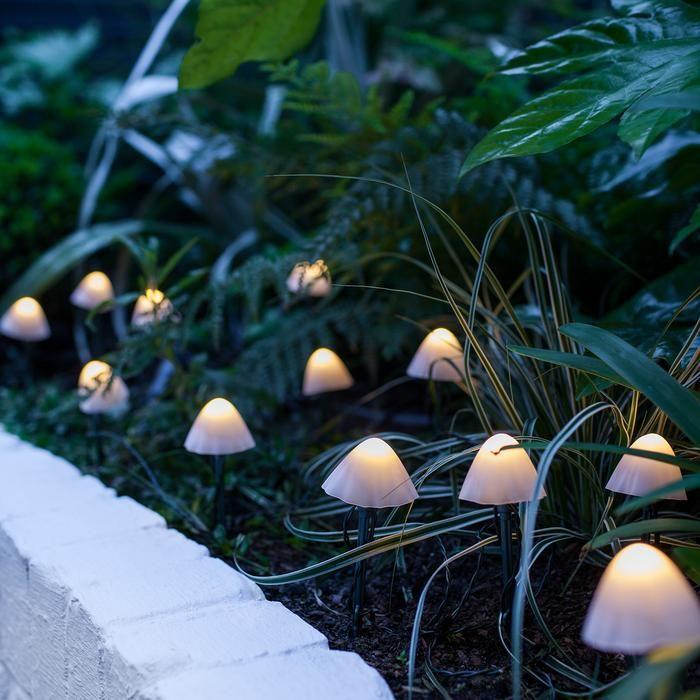 lampu jamur taman