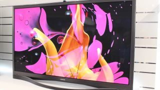 Samsung showed-off its F8500 smart plasmas at CES 2013