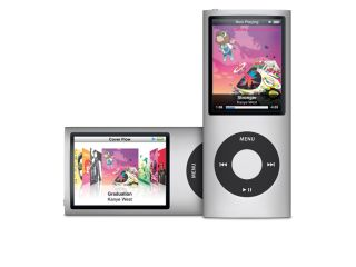 The new iPod nano: Tall, thin and shakeable.