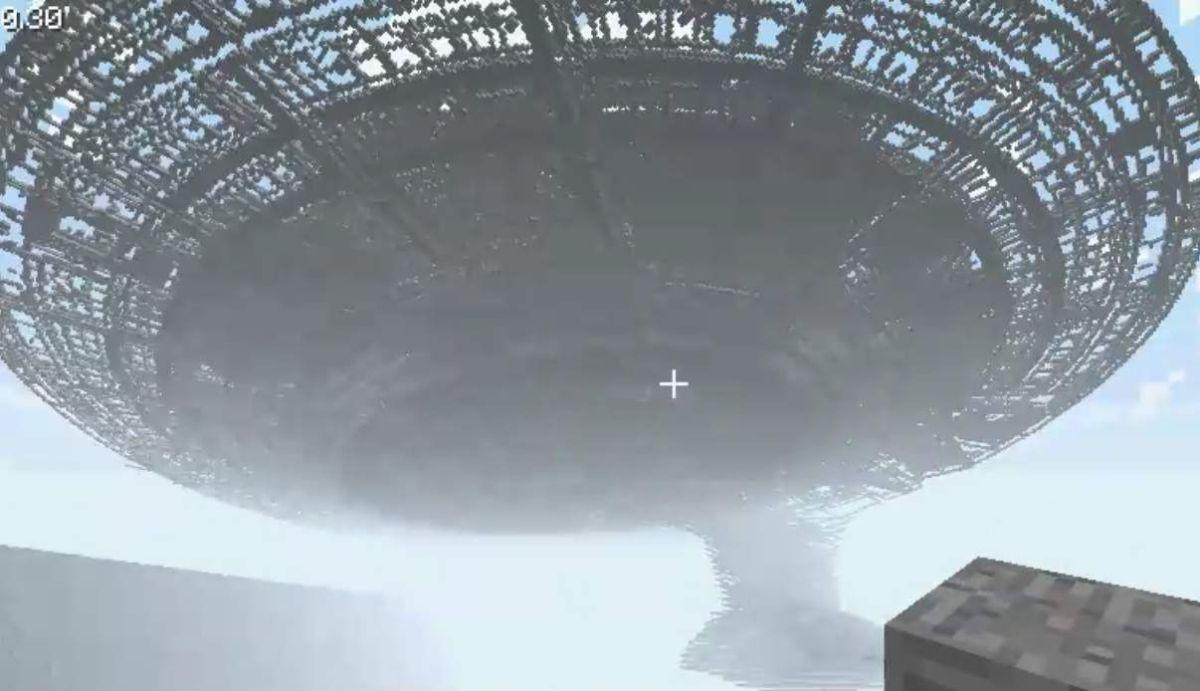 Somebody Built The Starship Enterprise In Minecraft Pc Gamer