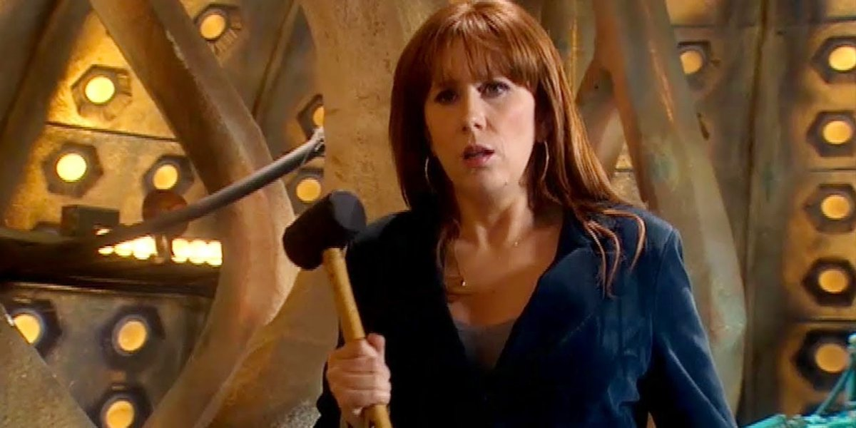 Catherine Tate on Doctor Who