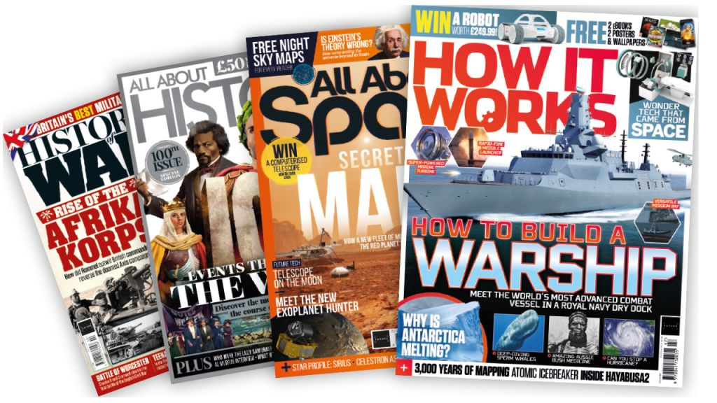 Subscribe to your favorite magazines from just $12 for 12 months!