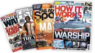 Knowledge magazines spread