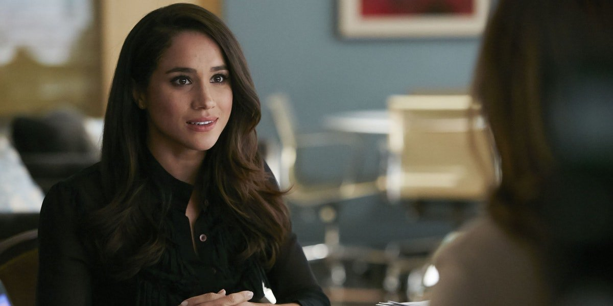 Meghan Markle in Suits.
