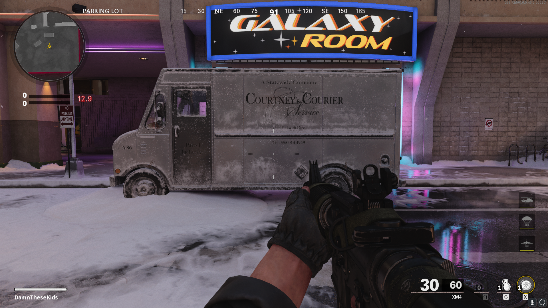 The Pines map in Black Ops-Cold War.