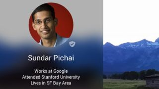 Sundar Pichai Google Plus