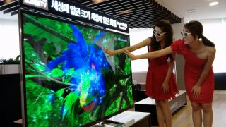 84 inch LG UD 3D TV arriving in all its 4K glory in September