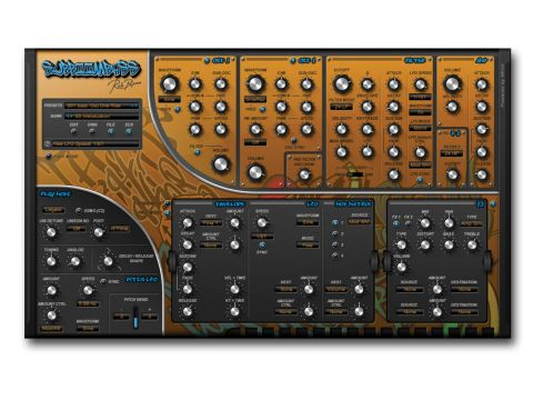 Love it or hate it, SubBoomBass's interace is undeniably distinctive.