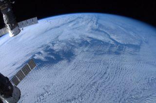 Astronaut Chris Hadfield Earth Photo
