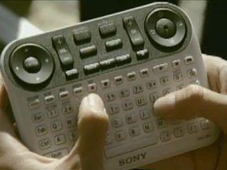 Sony's Google TV remote