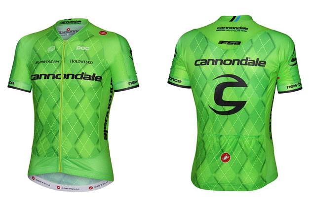 4712b2f6e Cannondale Pro Cycling Team unveils new jersey... at last - Cycling ...