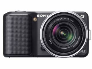 Sony's new NEX range (NEX-3 pictured)