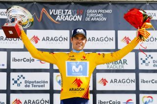 Eduard Prades (Movistar) won the 2019 Vuelta a Aragòn