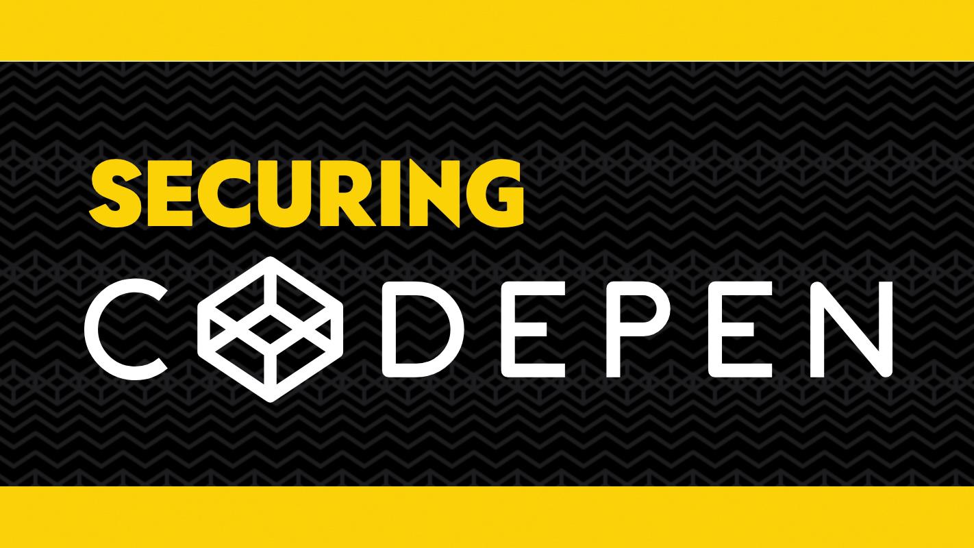 How CodePen made itself secure | Creative Bloq