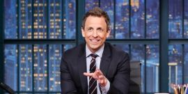 Seth Meyers' Wife Gave Birth To Their New Son In An Apartment Lobby
