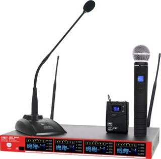 Galaxy Introduces DHXR4 Space-Saving Quad Wireless Mic Receiver