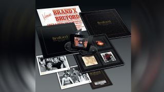 The Bruford 1977-1980: Seems Like A Lifetime Ago box set contents