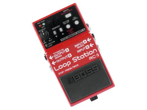 The RC-3 gives you stereo looping.
