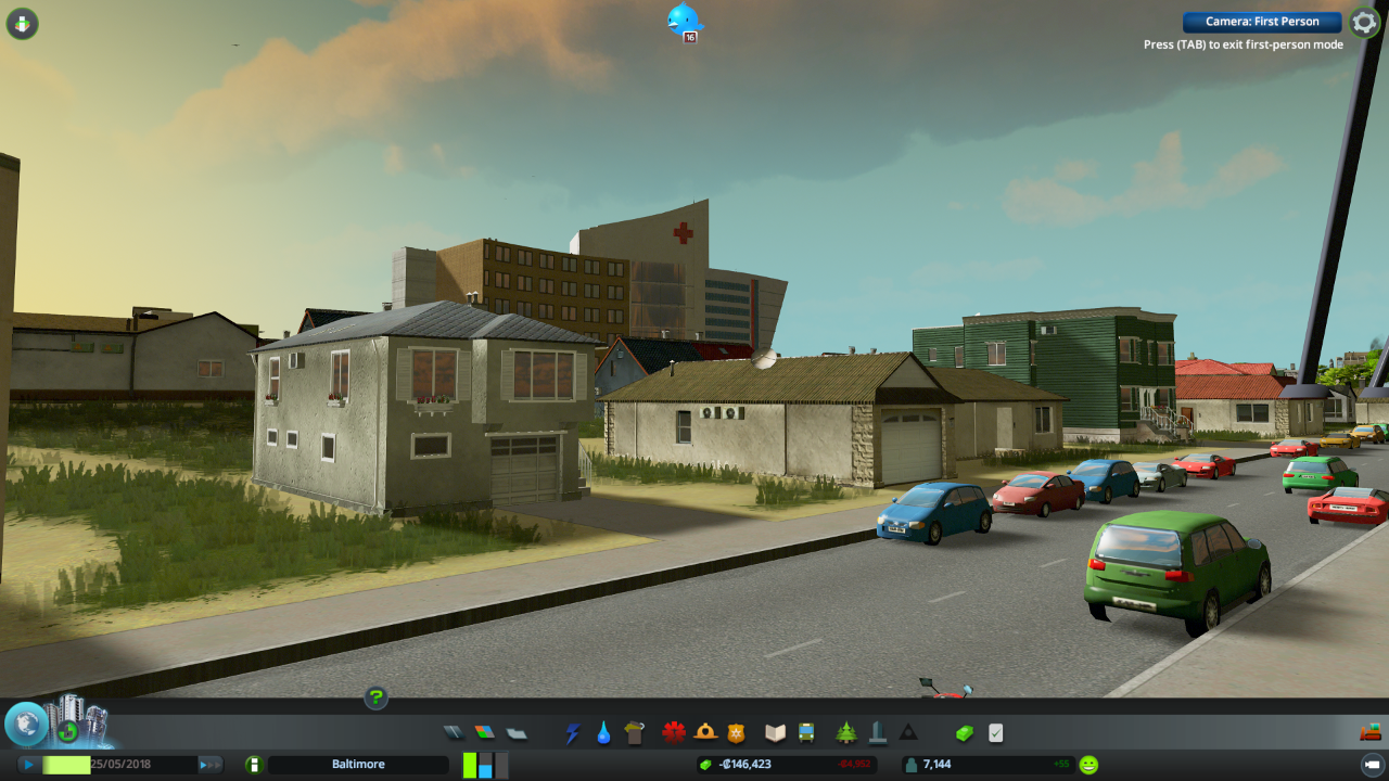 Cities: Skylines first-person mod lets you explore the
