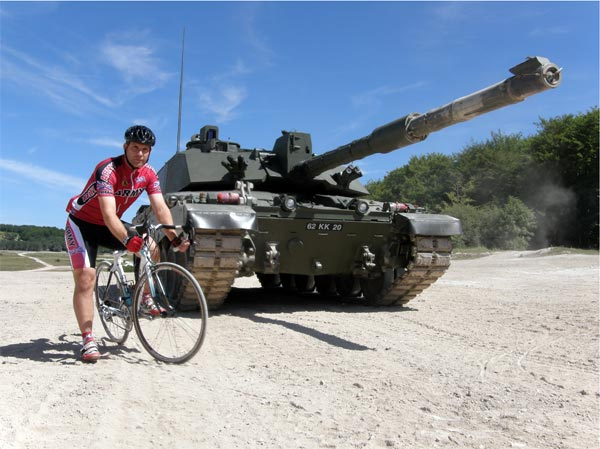 Captain Darren Clarke from Army CC, Pain on the Plain 2011