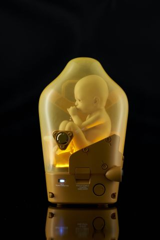 You can use this Death Stranding BB collectible as a lamp if you want to terrify visitors