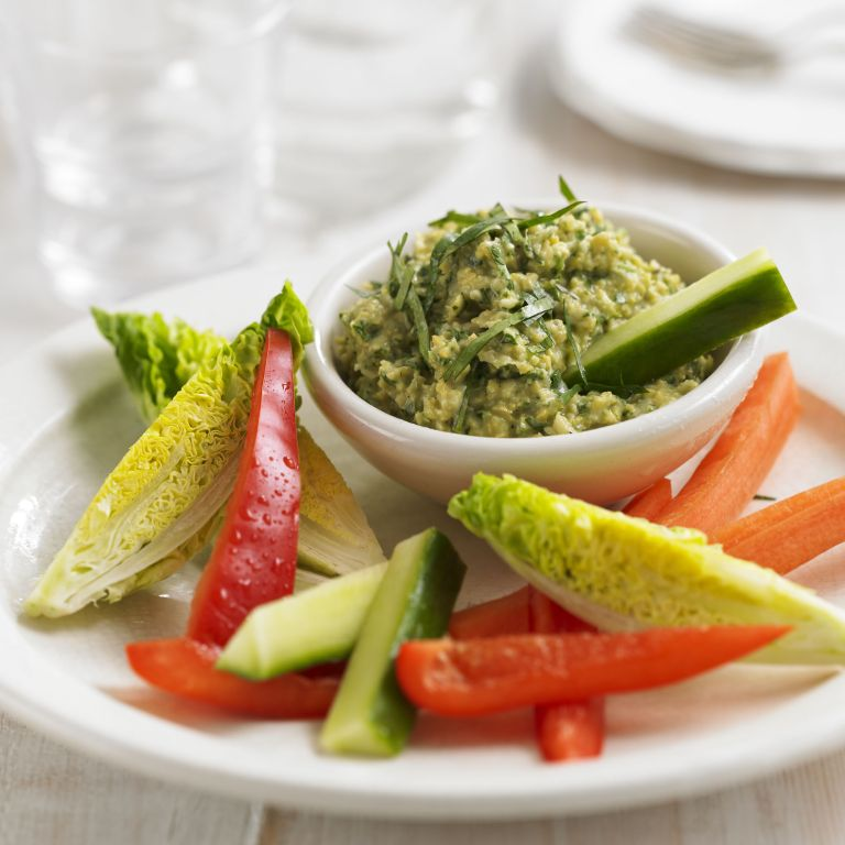 Lemon and Coriander Hummus recipe-dip recipes-recipes-recipe ideas-new recipes-woman and home
