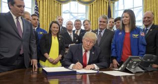 President Trump Signs 2017 NASA Authorization Act