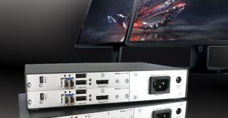 IHSE Launches Dual-Head 4K Extender Kit for Multidisplay Workstations