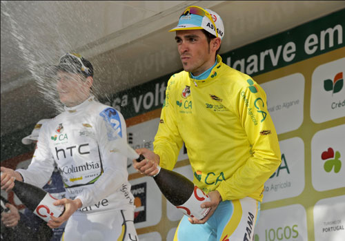 Alberto Contador, Tour of the Algarve 2010, stage three