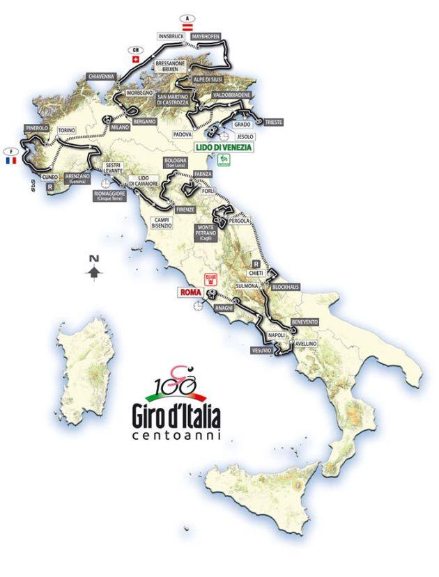 Giro 09 map