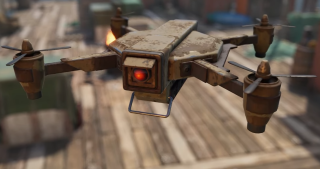 A drone in the video game rust