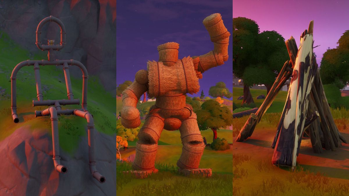Fortnite Pipeman, Hayman, and Timber Tent locations: Where ...