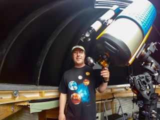 Tim Doucette visually impaired astronomer