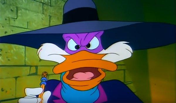 Darkwing Duck saying 'let's get dangerous'